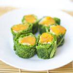 Sushi de col y estofado de verduras dulces