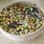 Receta ensalada de garbanzos para primavera