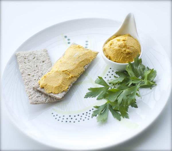 receta pate-almendra-zanahoria vegano