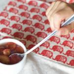 Gelatina de cerezas