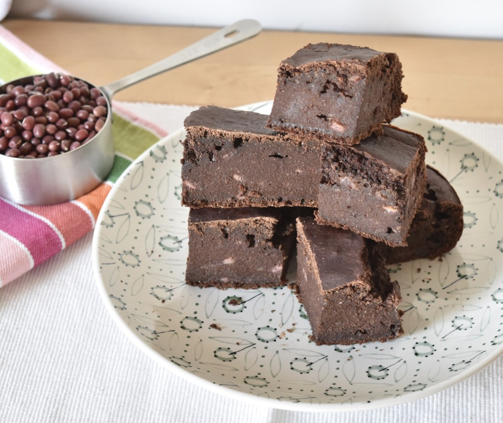 Brownie de azukis macrobiotica