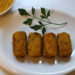 Croquetas veganas sin harina