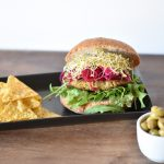 Como hacer la mejor hamburguesa de Okara vegana