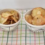 Chips de chirivia dulces y saladas