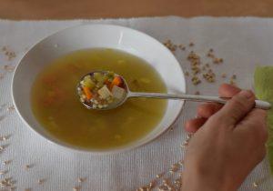 sopa cebada